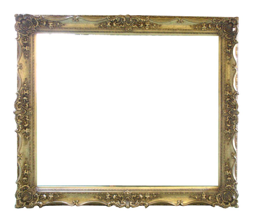 19cm wide heavy ornate swept frame