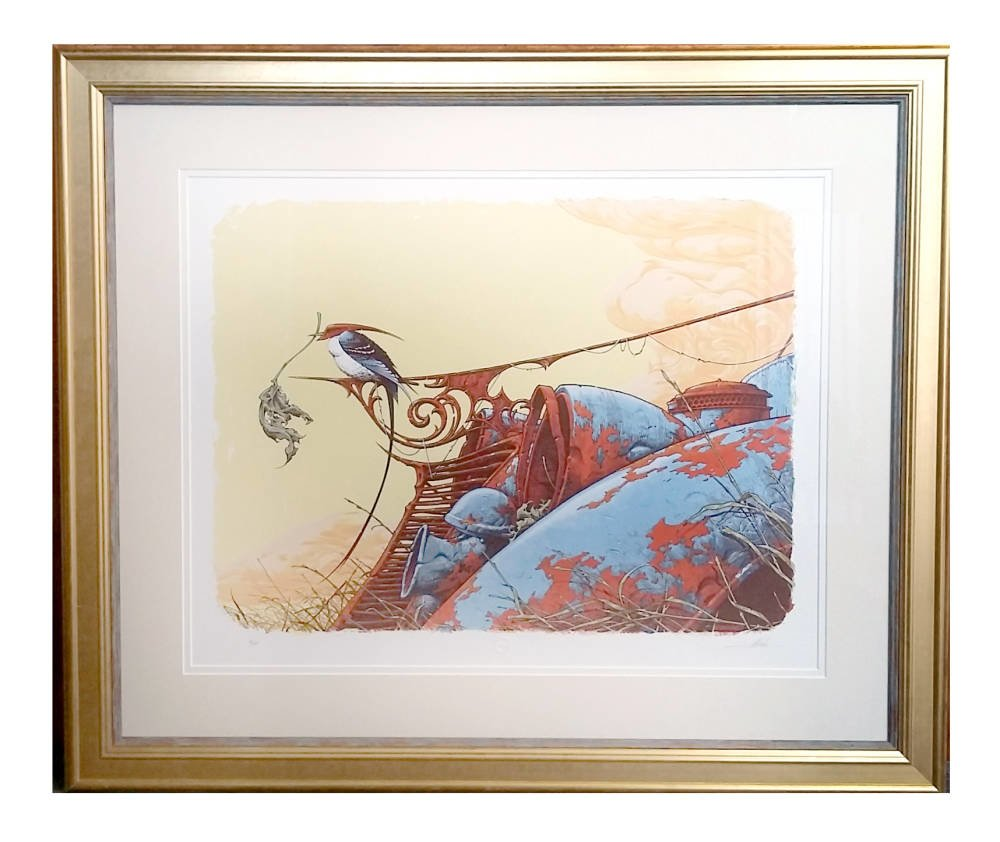 Limited edition framing - Aaron Horkey - Nesting