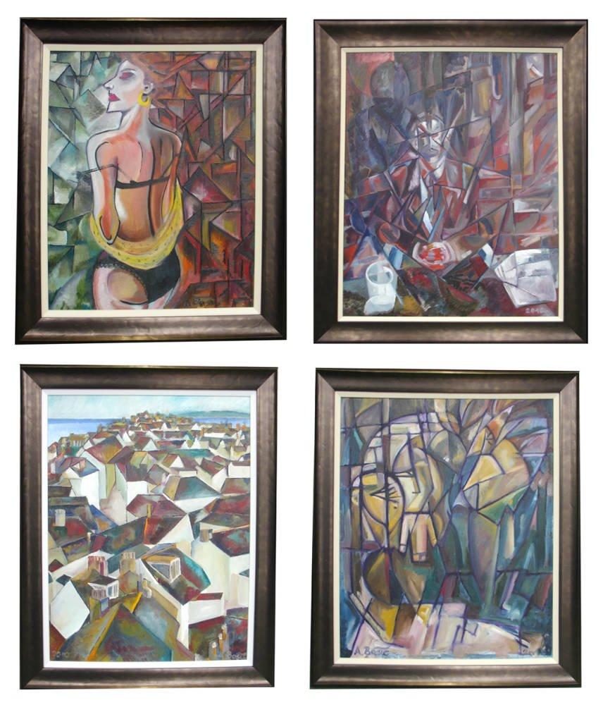 Aleksandar Bašić collection framed