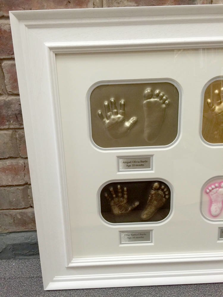 Baby feet and hands framed - Main Image