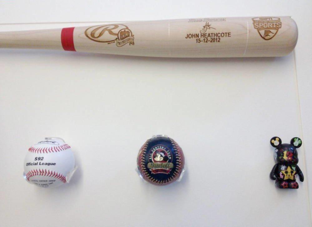 Baseball Bat And Glove Framing Project Main Image