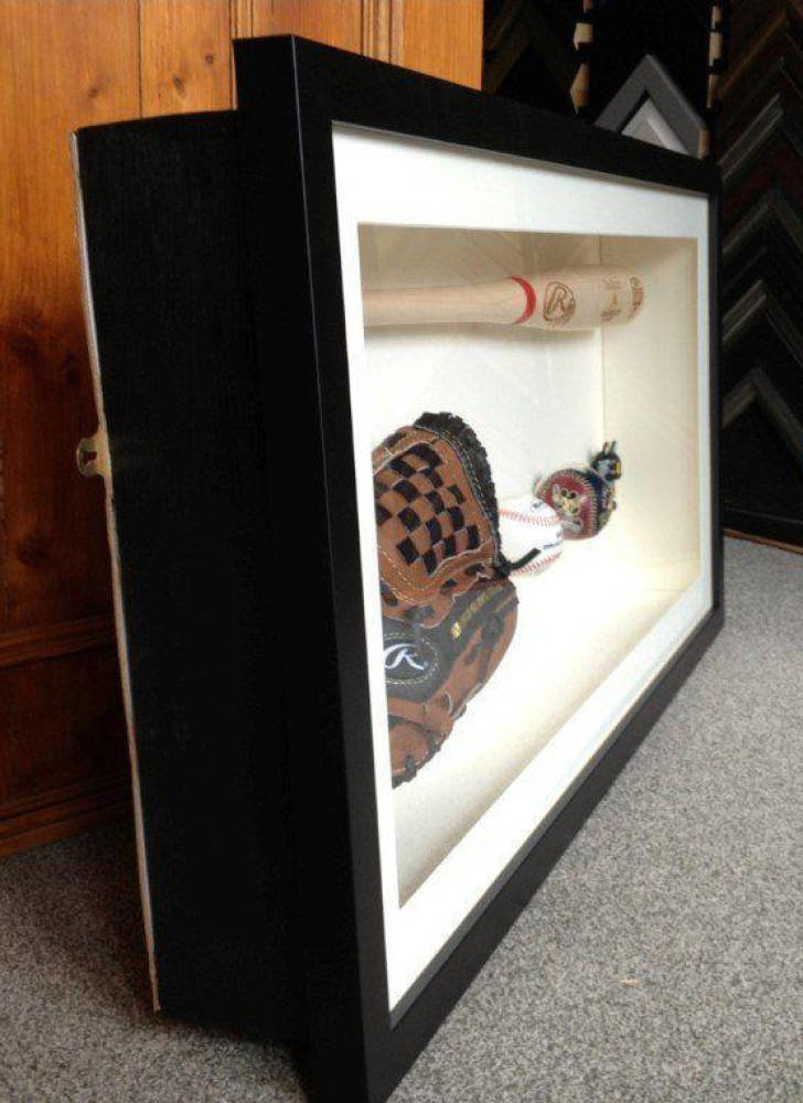Baseball Bat And Glove Framing Project Main Image