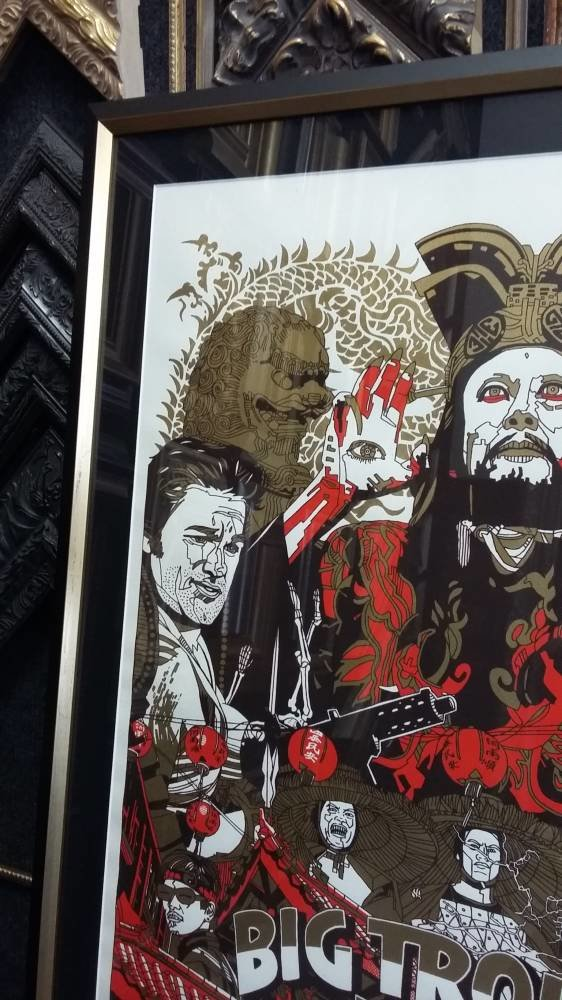 Big Trouble in Little China - Tyler Stout print - Main Image