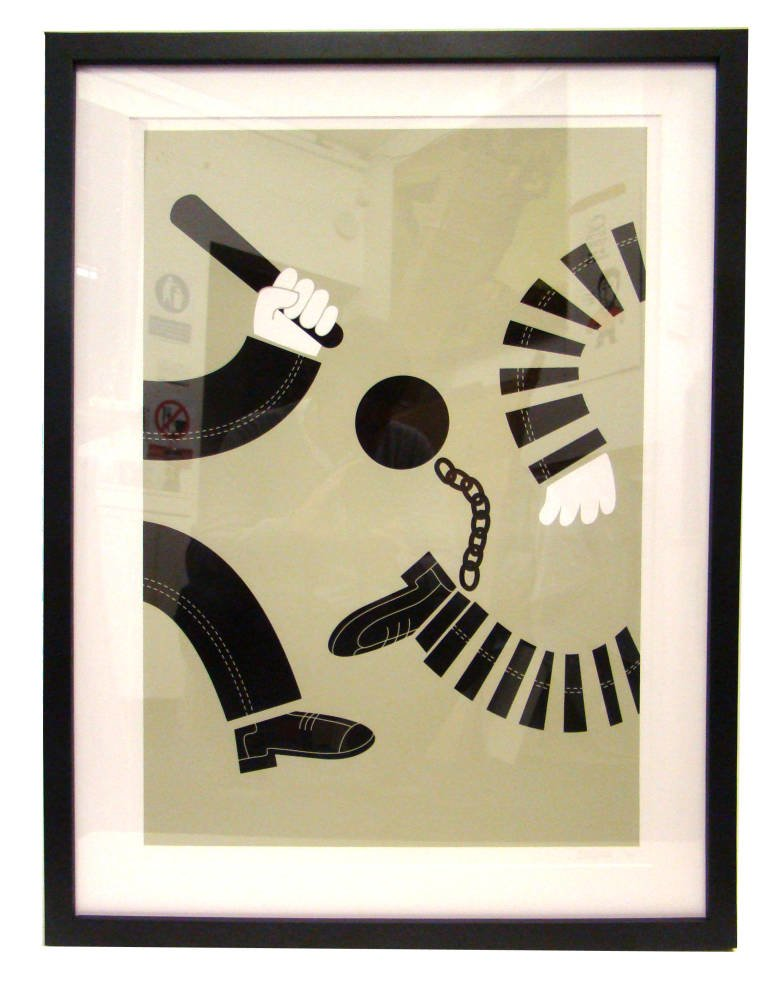 Crime and Punishment limited edition framed
