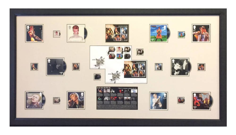 David Bowie limited edition stamp collection