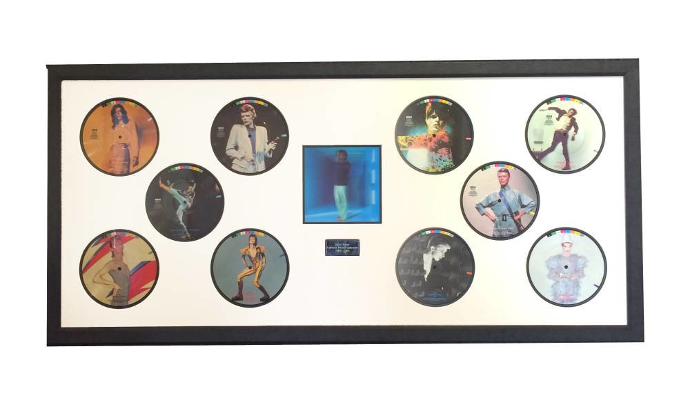 David Bowie record collection - Main Image
