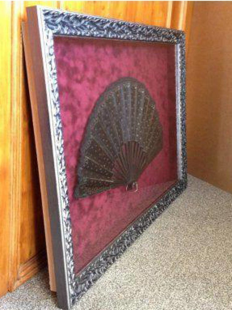 Decorative fan framing project - Main Image