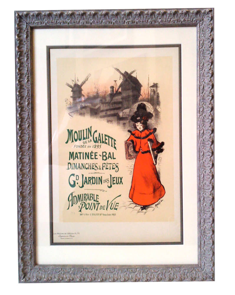 French poster framed - Main Image