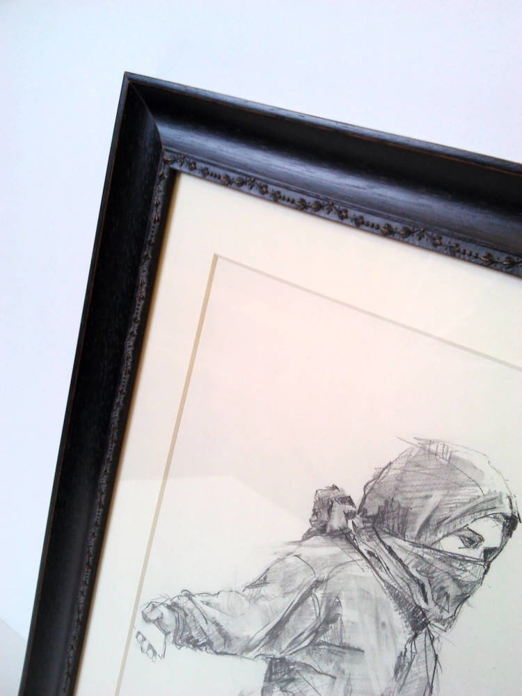 Guy Denning original framed - Main Image