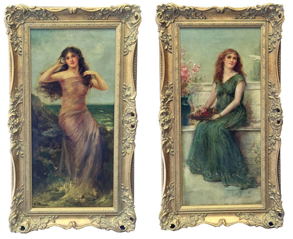 Joseph William Carroll oil paintings - Main Image