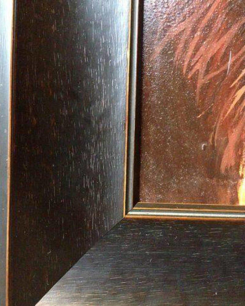 Large Original Lion Oil Painting