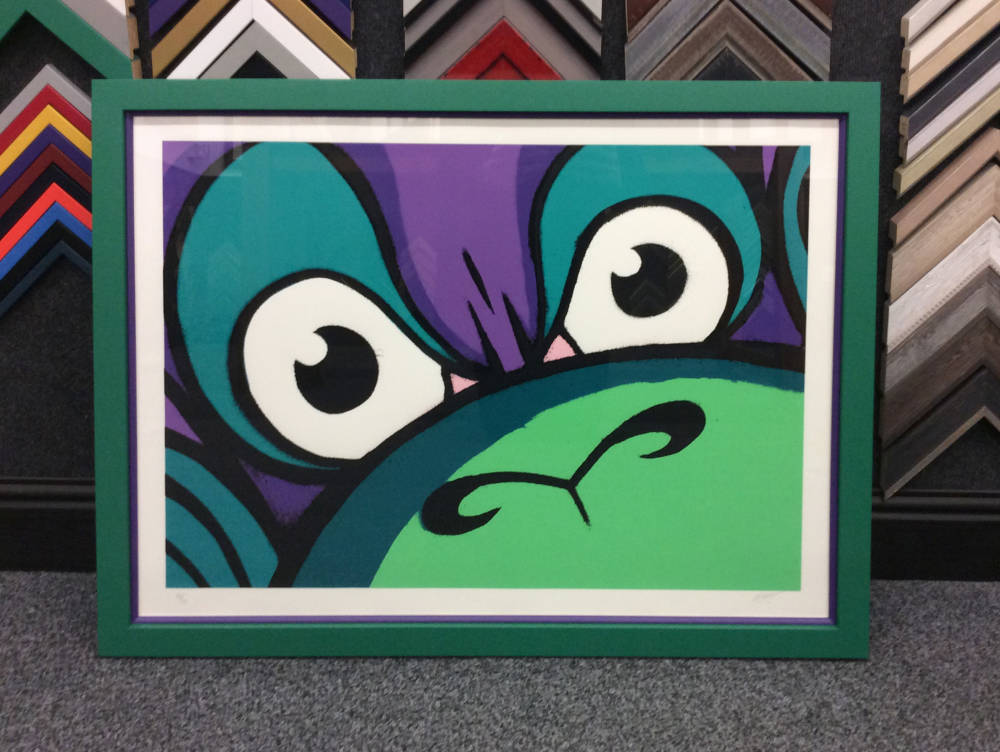 Limited Edition Mighty Monkey Print - Main Image