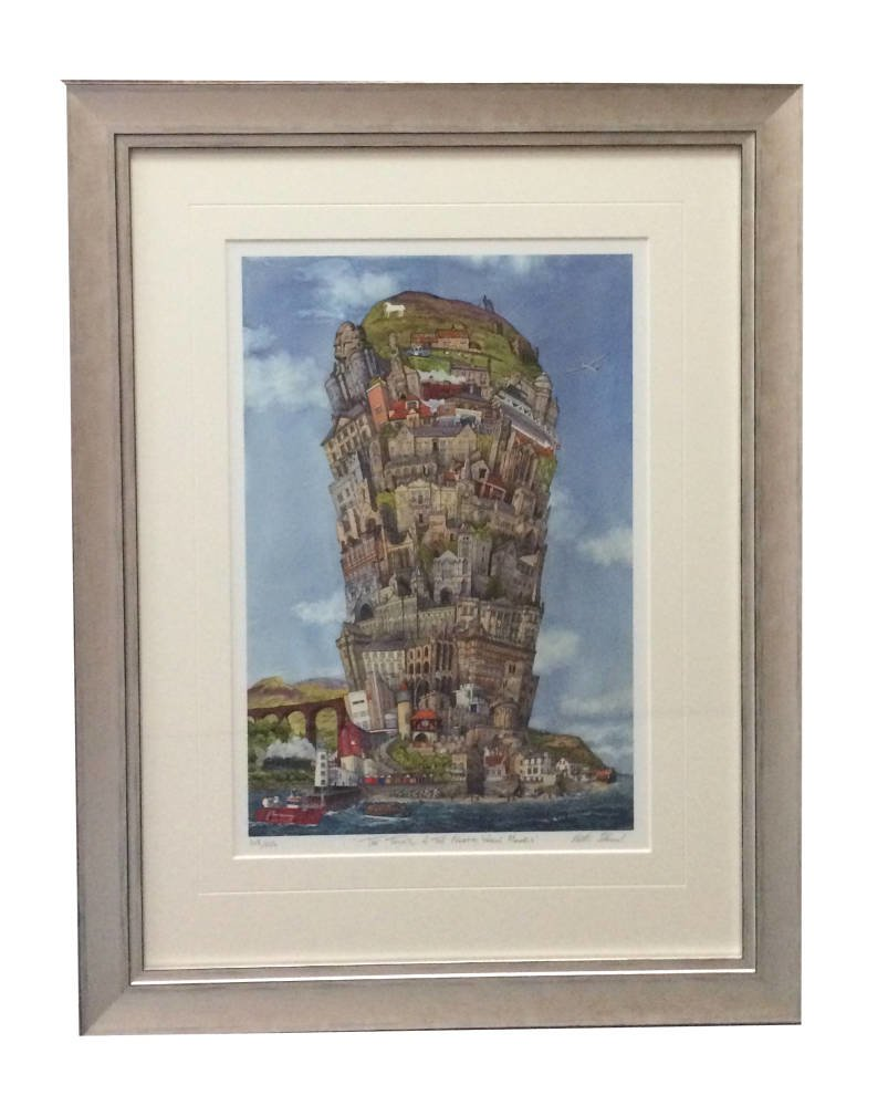 The tower of the North York Moors limited edition - Matthew Ellwood framed print