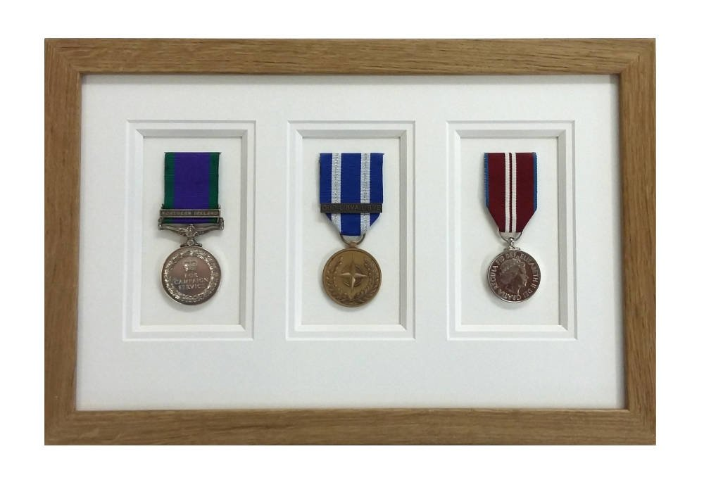 Medal Framing - double mount professional framing