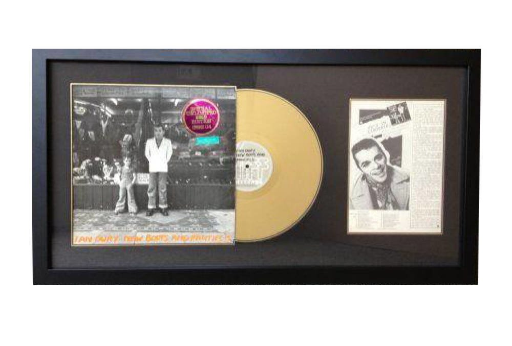Lp framing - New Boots and Panties Ian Dury