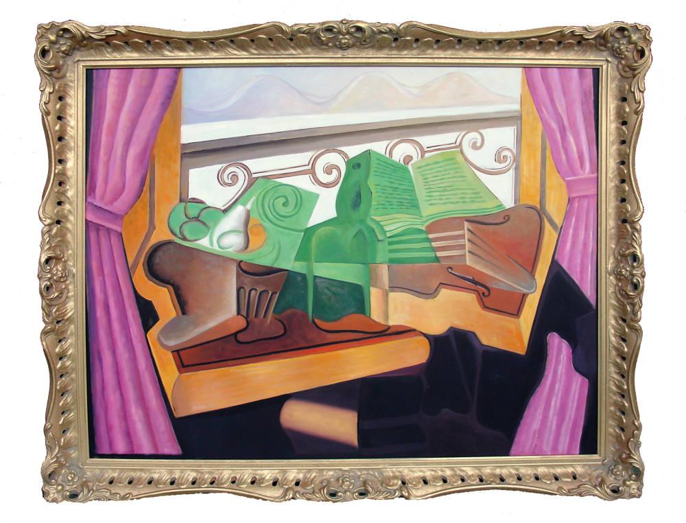 Oil Painting Framing | Brampton Picture Framing