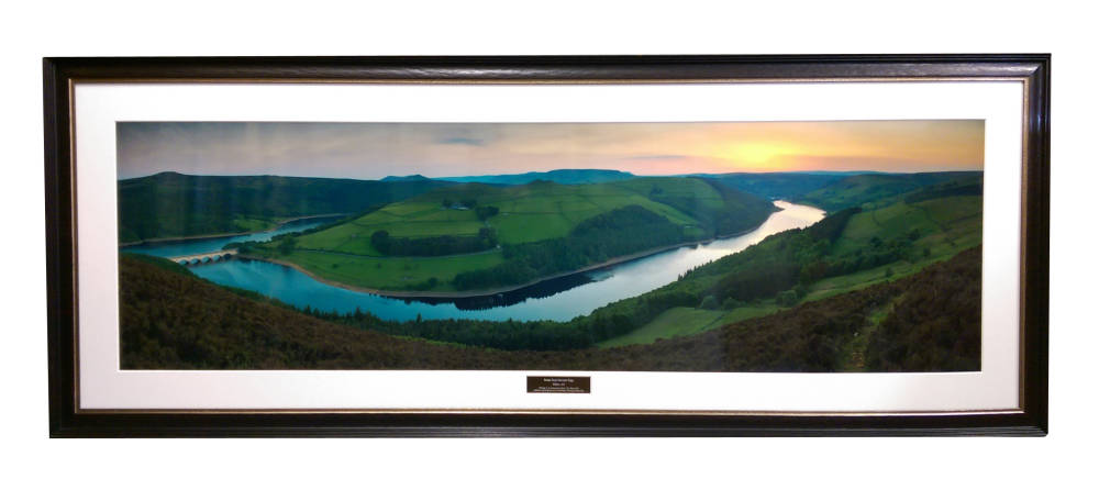 Panoramic of Derwent Edge - Derbyshire framers