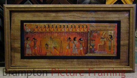 Papyrus Framing - Main Image