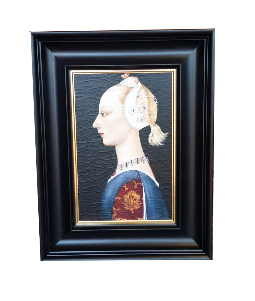 Professional picture framing online diy framing brampton framing piero della francesca portrait framed solutioingenieria Choice Image