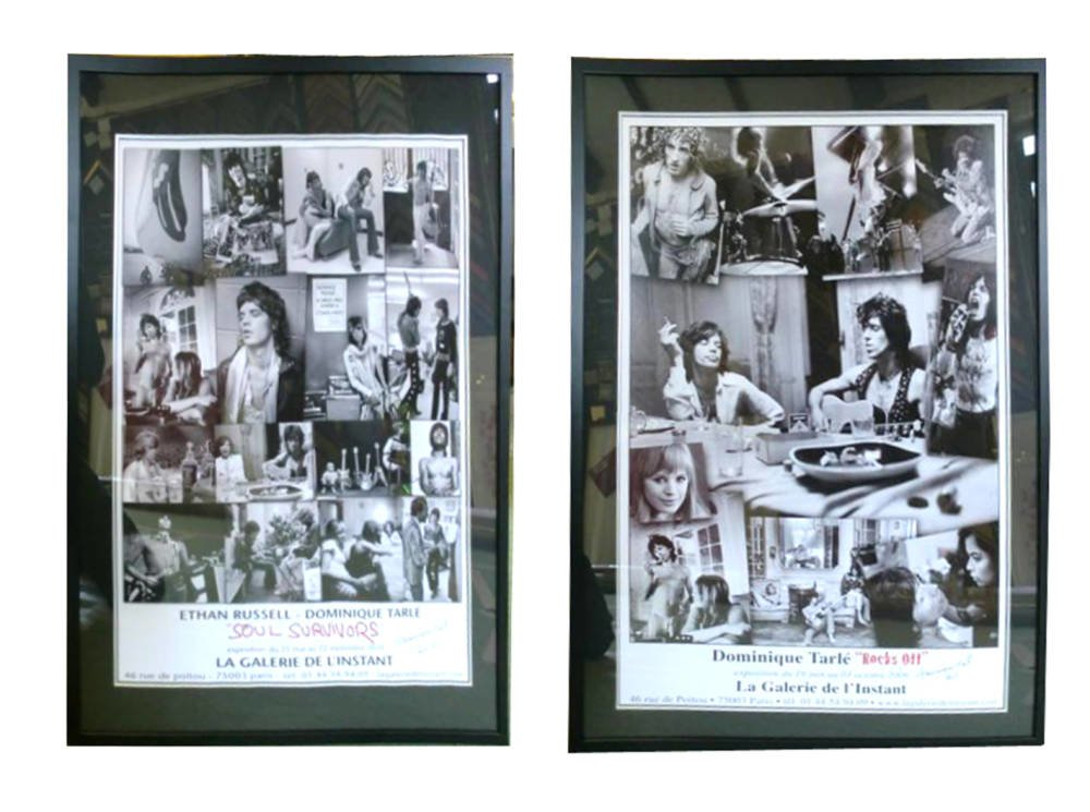 Rolling Stones posters framed