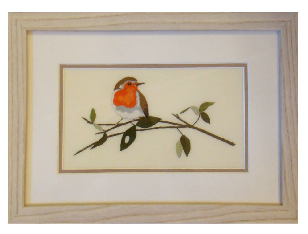 Embroidery framing cheap frame- Small Robin Needlework