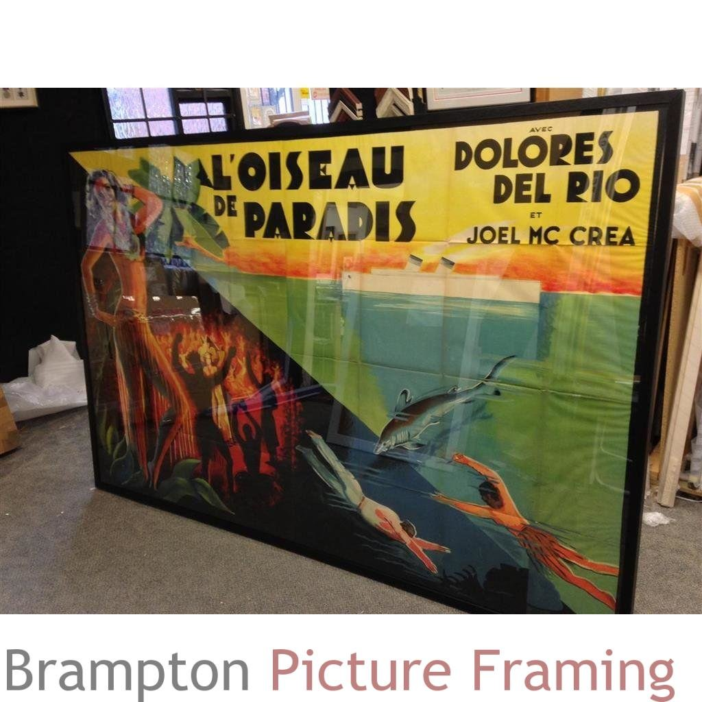 Challenging  framer paris astronomical sums - Very Large picture frames
