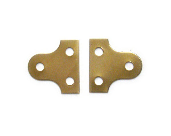 38mm Brass Plated Mirror Plates