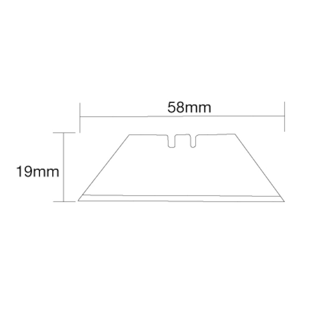 Utility Knife Blades 0.6mm 10 Pack, DIY Picture Framing