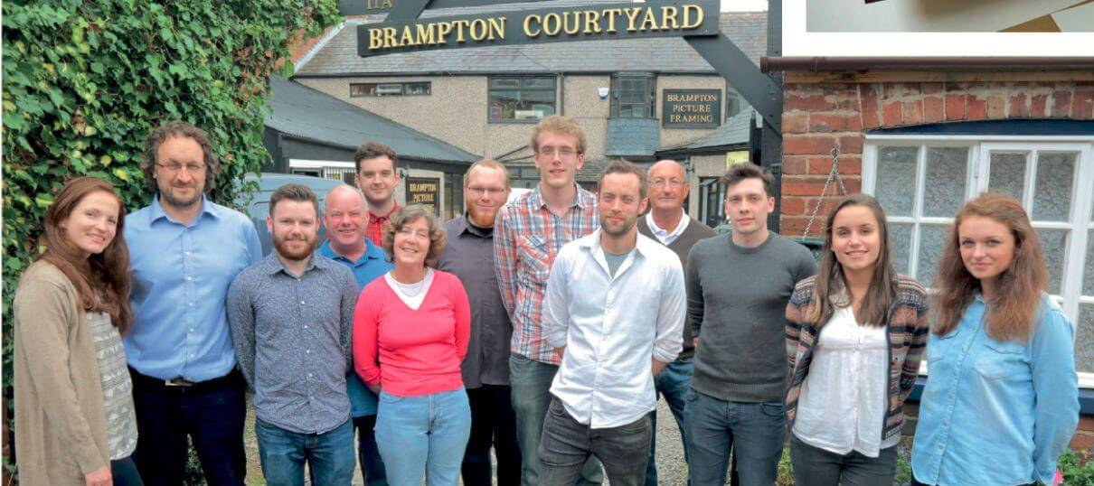 The Brampton Framing Team
