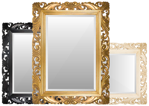 Buy Standard Sizes Ornate Frames With Mirrors On Brampton