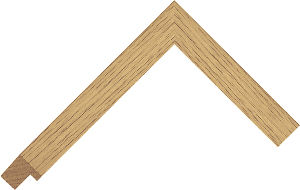 114200000 Barewood Barefaced Oak Moulding Chevron
