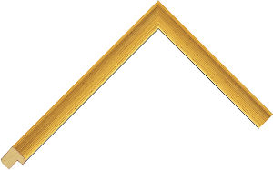 115246000 Gold LJE Moulding Chevron