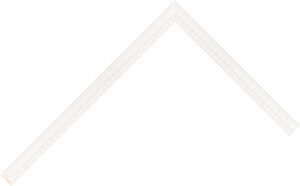 115653 White LJS Confetti Fillets Moulding Chevron