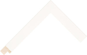 140127000 White Moulding Chevron