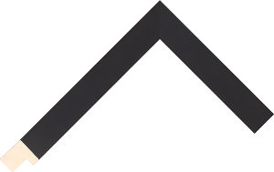 140167000 Black Moulding Chevron