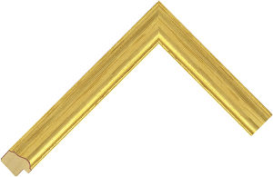 165201246 Gold LJE Moulding Chevron