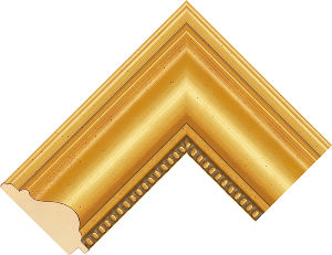 201246000 Gold LJE Moulding Chevron
