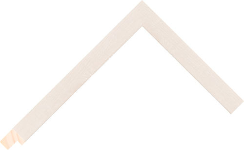 Corner sample of Maple Flat Radiata Pine Frame Moulding