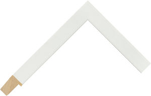 235102000 White LJE Moulding Chevron