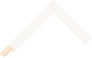 235127000 White Moulding Chevron