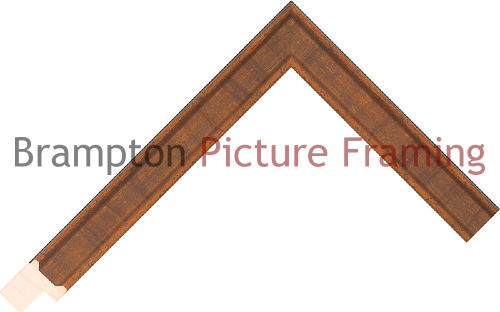 6m pack of 20mm wide Paint Araucaria Rust/Brown Picture Frame ...