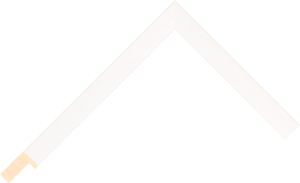 301383127 White LJE Moulding Chevron