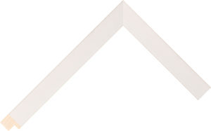303423127 White LJE Moulding Chevron