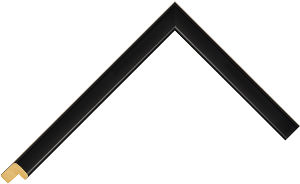 312731450 Black LJE Moulding Chevron