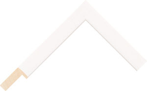 364453127 White LJE Moulding Chevron