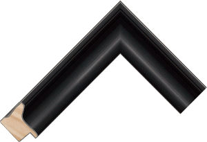 380650 Black LJS Tate Moulding Chevron