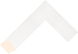 397127000 White LJE Moulding Chevron
