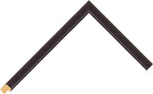 402000167 Black Essentials Moulding Chevron
