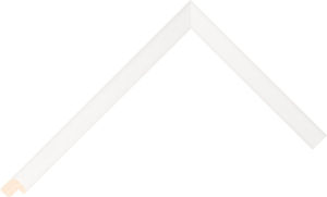 427639200 White LJE Moulding Chevron