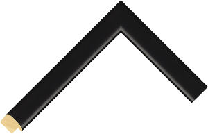 430167000 Black LJE Moulding Chevron
